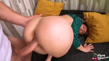 MILF Deep Suck Big Dick and Ass Fuck on the balcony