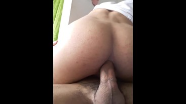 HIS ASS BEGS FOR MILK