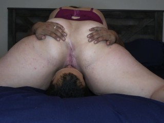 Pawg Sits On Mans Face