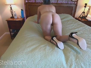 Preview 1 of HIGH HEELED HEDONISM E17: Anal MILF Hardcore Ass Fuck in Strappy High Heels - TEASER