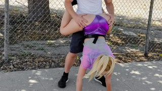 Thickumz - Thick Blonde Babe Gets Pounded Out