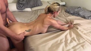 Real life Hotwife fucks random hung bartender while on vacation preview