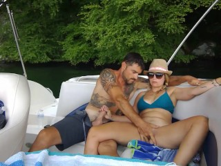 Some public fun on the boat.