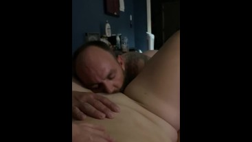 Daddy Eating my Pussy ..... for being good