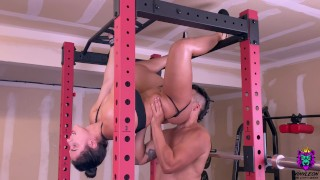 Good Porn - Big Tits Brunette Gets An Intense Anal Fuck In The Gym After Core Workout