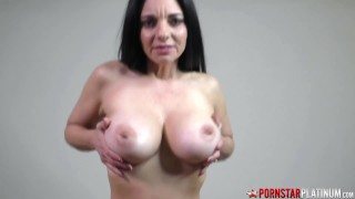 PORNSTARPLATINUM MILF Mindi Mink Fucked By Soldier Stepson
