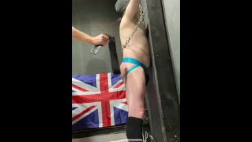 The Cell - Inmate 010 - Extreme paddling and spanking.