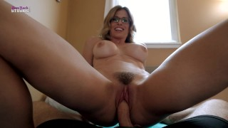 My Horny Step Mom with Big Tits Has a Secret - Cory Chase