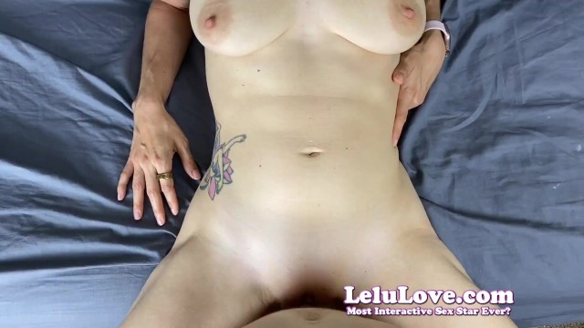 She's fertile ovulating says no creampie but gets horny wants YOU to get her pregnant!! - Lelu Love