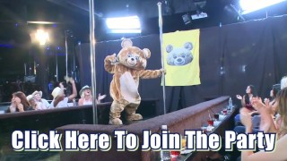 DANCING BEAR – Male Strippers Sling Dick For Horny Ladies At Wild CFNM Party