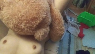 Twenty minute romp with Mr. Teddy