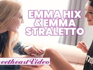 SweetHeart - Lesbian skater girl Emma Hix sissors with Emma Starletto