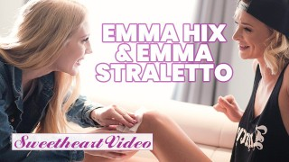SweetHeart – Lesbian skater girl Emma Hix sissors with Emma Starletto