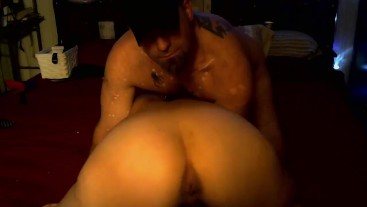 All Tied Up Part 3  Squirting, Hardcore fucking, Cum and more