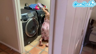 全長ポルノ映画 - Cam Soda 洗濯をしている間に私の姉を犯した