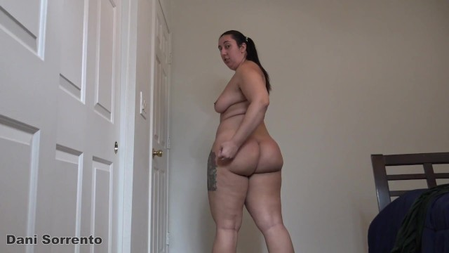 Vision flex diamond strips Joi strip tease and ass clapping- a dani sorrento solo custom clip