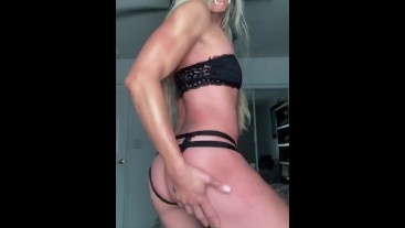 Blonde Fitness Girl texts me Dripping Wet Pussy