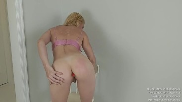 Spanking Myself And You-Butt Plugs In