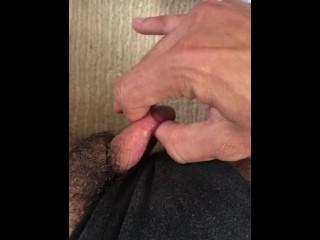 QUICK INTENSE ORGASM / Big ftm cock/clit