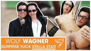 Stella Star picked up, then fucked in chair! WOLF WAGNER