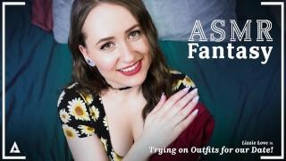 ASMR Fantasy角色扮演-您的女友Lizzie Love为您的约会做好准备