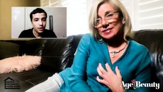 ADULT TIME – Mature Beauty Payton Hall is HOT for Step-Grandson