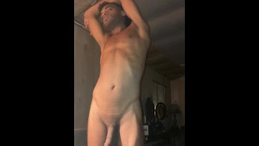 ROCK MERCURY TAKES NUDE SMOKE MOMENT BEFORE BED THICK COCK SEXY SAVAGE RANCH HOTNESS