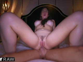 TUSHYRAW Anal-crazy brunette loves going ass to mouth