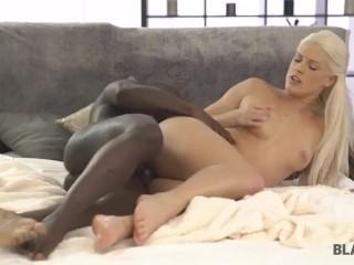 BLACK4K. Girl doesnt want to masturbate but desires big black dick