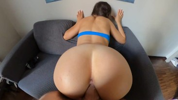 YOUNG AMATEUR CREAMPIE - PERFECT POV - SplashOfLove