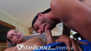 ManRoyale Hunks Suck Many Different Cocks