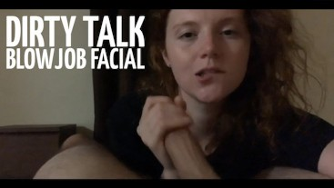 Dirty Talk BJ Facial