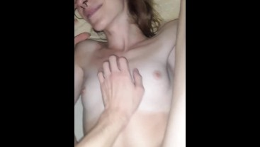 Fucking my beautiful trans girlfriend