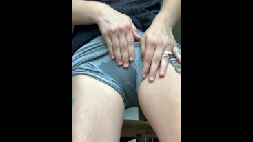 Desperate Girl Pees Her pants