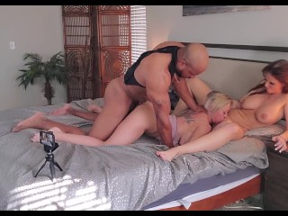 Hot Threesome with Dee Williams & Syren DeMer