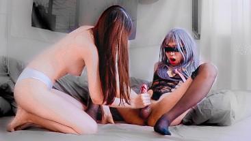 Chinese Femdom Mistress - Sissy Boy Humiliation FULL