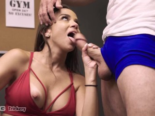 Trickery – Big Booty Latina Tricks Personal Trainer Into Sex