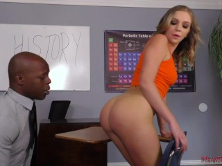 Dominant Student Makes Her Teacher Lick Her Ass - Tiffany Watson