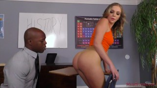 Dominant Student Makes Her Teacher Lick Her Ass – Tiffany Watson
