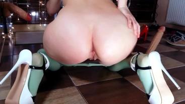 BIG ASS FUCK - MILF HOTWIFE ANAL