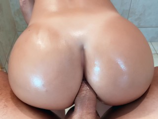 i'll give you a rimjob if u fuck my ass properly – Anal POV