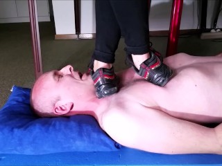 Nike Sneaker Girl Slave Trampling (Trailer)