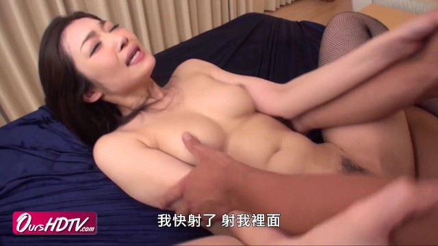 [OURSHDTV][中文字幕]Hot Japanese Chick Ryu Gets Threesome (中出)creampied uncensored