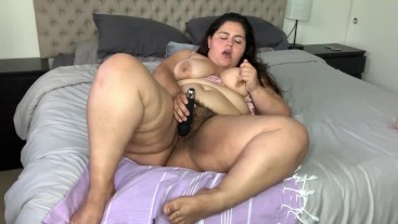 Bedtime Solo BBW Playtime
