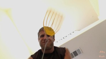 Alpha Shrinks & Doms Pansy With Fly Swatter POV