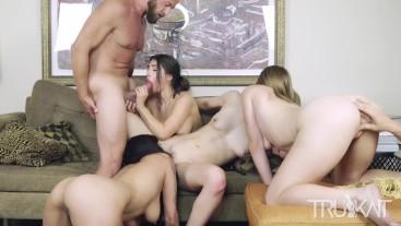 Real swingers orgy