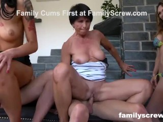 StepSisters Acting like Whores – Stepfamily Sticks Together