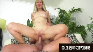 Golden Slut – Horny Older Cowgirls Compilation Part 19