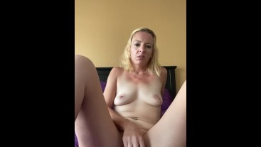 Quickie Masturbation After Cam, Before Work