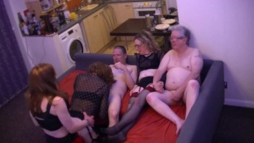 Another TGirl Orgy Party - Part 2.